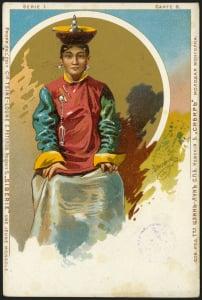 Молодая монголка