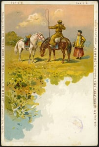 Монгол в пути