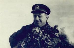 Герой Советского Союза И.Д. Папанин