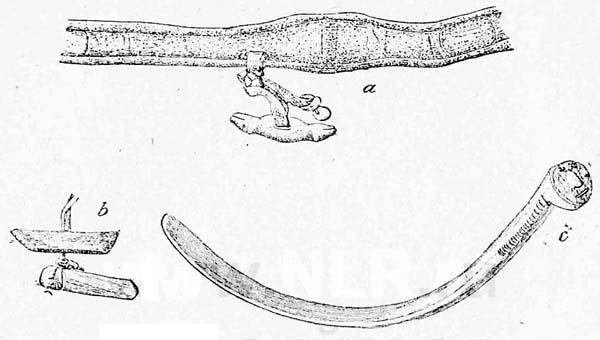 Амулеты на поясе и отряхалке