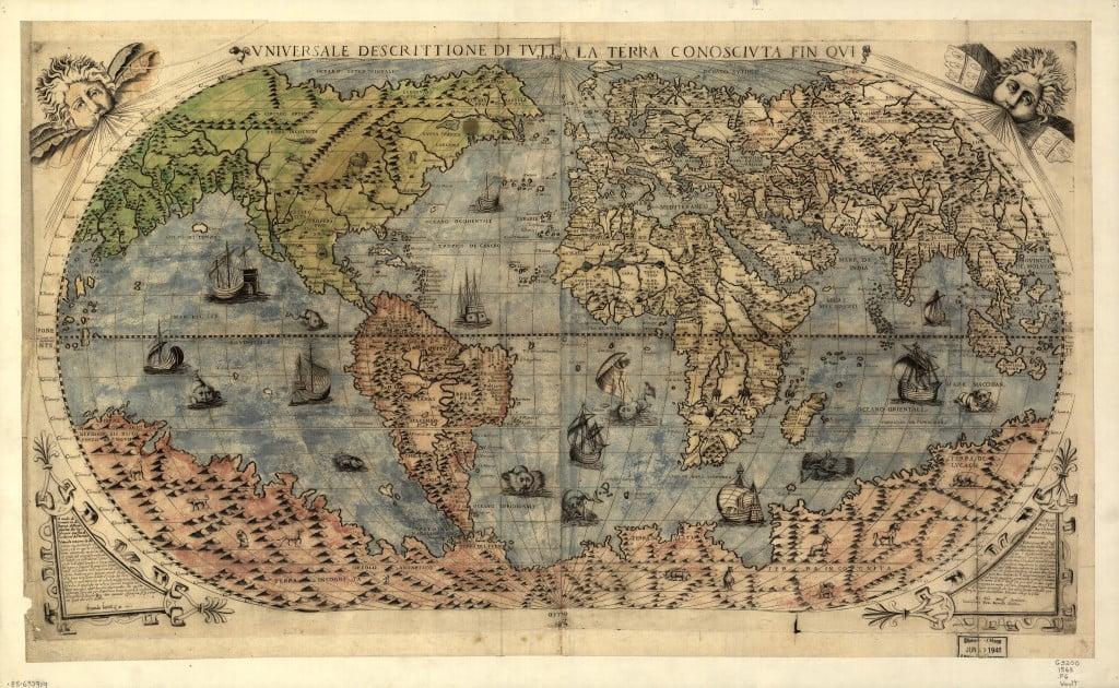 Карта Кастальди