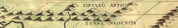 Фрагмент карты Кастальди, 1546 г.