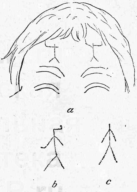 Татуированное изображение защитника