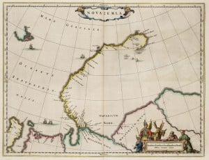Атлас Новой Земли 1664 года