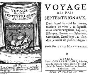 Обложка книги Путешествие в северные страны, Пьер Мартин де Ламартиньер