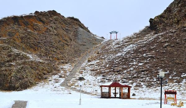 Лестница к Вратам Шамбалы