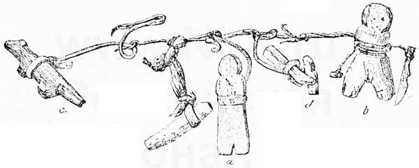 Связка охранителей приморских чукчей